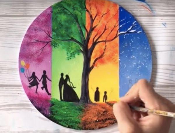 art tweens painting