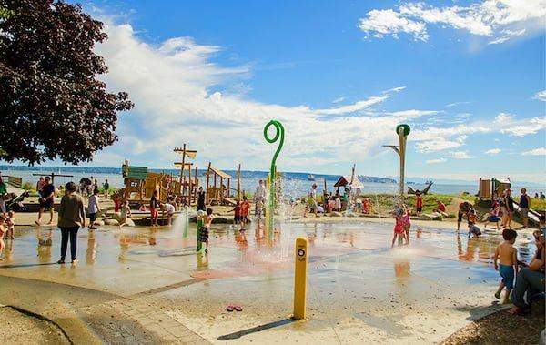 Granville Island Splash water park vancouver